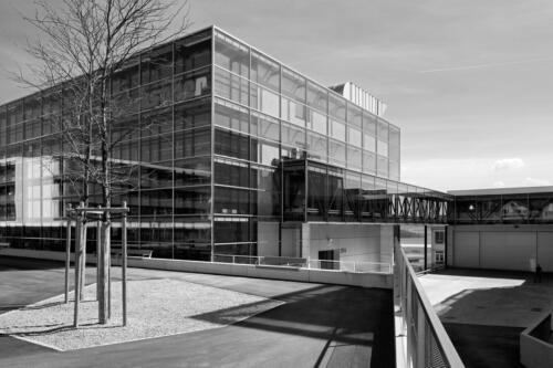 Industriebau Laubscher Präzision AG. Auftrag Leimer Tschanz Architekten