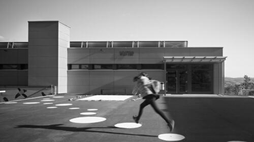 Turnhalle Oberdorf (SO). Hugi Spirig Architekten.